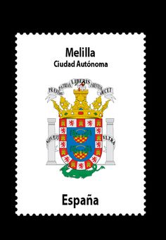 Melilla, one of the autonomous states of Spain in north Africa