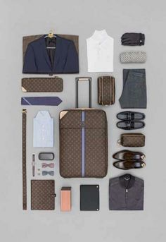 Simon's article here has some good tips for packing some may not know. Also, those LV oxfords are reheheally nice.