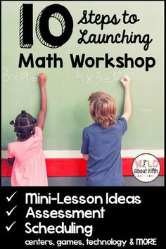 Read about how I organize, set up, schedule, teach and assess math workshop.  Plus great freebies and must-have resources included.  Start math workshop with your students today!!!