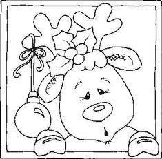 Risultati immagini per pintura country diseños con patron Christmas Colors, Christmas Art, Christmas Projects, Christmas Tables, Nordic Christmas, Modern Christmas, Christmas Drawing, Christmas Paintings, Christmas Crafts