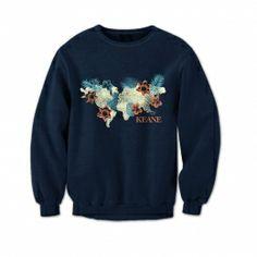 Keane Map Sweatshirt