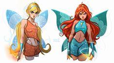 Bloom Winx Club, Teen Titans, Las Winx, Art Sketches, Art Drawings, O Pokemon, Wow Art, Fandoms, Girls Characters