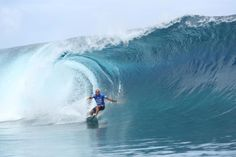 World Surf League: Billabong Pro Tahiti, Kelly Slater (USA) took the first…