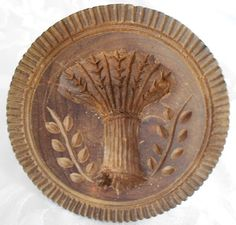 butter stamp ~ Oh how I would love to have one of these for my French Provencal Kitchen.