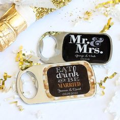 Personalized Themed Bottle Openers with Epoxy Dome by Beau-coup