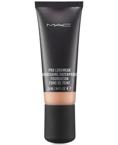 MAC Last Long Pro Longwear Nourishing Waterproof Foundation - Pro Longwear - Beauty - Macy's