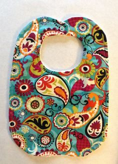 Baby bib  toddler bib  designer bib  terry cloth bib  by ViviGbaby, $10.00