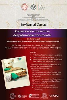 ADABI invita al curso Conservación preventiva del patrimonio documental.