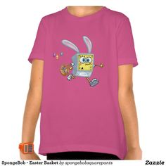 SpongeBob - Easter Basket Shirt. Regalos, Gifts. #camiseta #tshirt