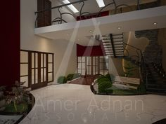 Hiring a modern interior designer can make your lobby perfect by adding values in it.