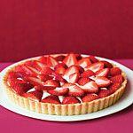 Brown Sugar Strawberry Tart Recipe | MyRecipes.com