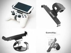 GameKlip pairs Android smartphones with PS3 controllers