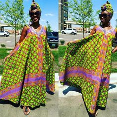 African cute dresses 2017 for womans African Dresses For Women, African Print Dresses, African Print Fashion, Africa Fashion, African Attire, African Wear, African Women, African Prints, Men's Fashion
