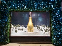Maybe next Christmas! Probably wise since we are Australia's biggest retailer of the stuff! #armanddebrignac #inspiration #storewindow #display