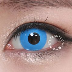 blues eyes with GEO crazy contact lenses. Special Effect Contact Lenses, Black Contact Lenses, Buy Contact Lenses, Coloured Contact Lenses, Cosplay Contacts, Halloween Contacts, Costume Contact Lenses, Cat Eye Contacts