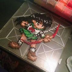 Kagome InuYasha perler beads by mini_minako