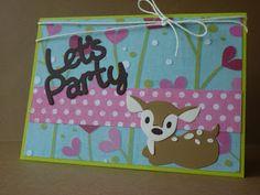 Margo's kaartjes en scraps: Let's Party