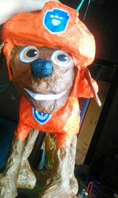 Zuma patrulla canina paw patrol piñata