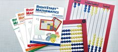 RightStart Mathematics uses the AL Abacus to provide a visual, auditory, and kinesthetic experience. The elementary and intermediate program lessons guide the teacher day-by-day and year-by-year, helping children understand, apply, and enjoy mathematics while surpassing state standards.