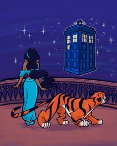 "20 Disney Heroines Chosen To Be ""Doctor Who"" Companions"