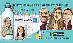 SouzaArte - Caricaturista RJ: Card