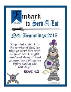 Embark to Serv-A-Lot New Beginnings