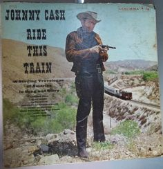 Johnny Cash Ride this Train Vintage Record by VintageCoolRecords