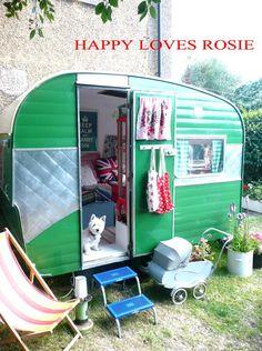 Vintage Caravan .... Done! UPDATE | HAPPY LOVES ROSIE