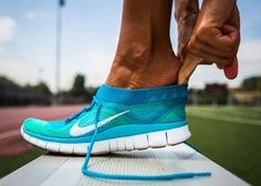 Sock-Like Sneakers - The Nike Free Flyknit Grips the Foot Like the a Sock @Nike