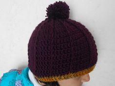 Crochet Slouch Hat | FaveCrafts.com