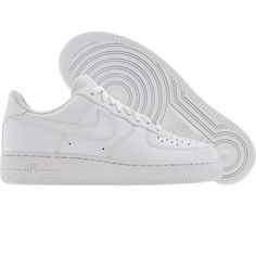 online store 7a23a e9dd3 Nike Womens Air Force 1 07 Low (white  white) 315115-112 - 74.99