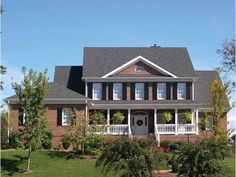 Eplans Colonial House Plan - Georgian Peach - 3021 Square Feet and 4 Bedrooms(s) from Eplans - House Plan Code HWEPL02550