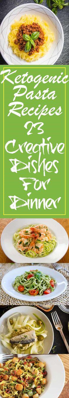 Ketogenic Pasta Recipes #keto - http://paleomagazine.com/ketogenic-pasta-recipes/