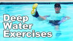 Deep Water Exercise in a Pool (Aquatic Therapy) http://www.AskDoctorJo.com Deep water exercises are great for aquatic therapy and…