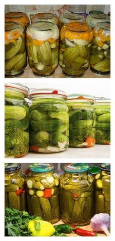 Огурцы баварские «Супер хрустящие» — на зиму идеально Pickles, Cucumber, Food And Drink, Drinks, Drinking, Beverages, Drink, Pickle, Zucchini