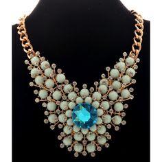 Turquoise Necklace, Boutique, Shopping, Jewelry, Fashion, Moda, Jewlery, Bijoux, Fashion Styles