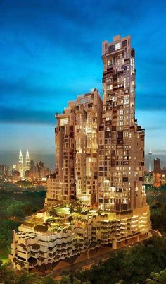 Icon Residence, Malaysia 15 Strange Buildings you'd love to see | Incredible Pictures