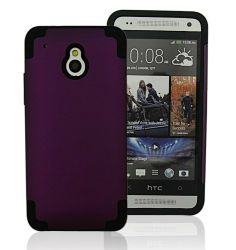 Amazon.com: Bear Motion Premium Double Protection Slim Back Cover Case for HTC ONE Mini (Purple): Cell Phones & Accessories