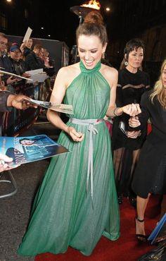 Daisy Ridley Murder On the Orient Express World Premiere 11/02/17