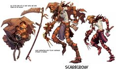 View an image titled 'Scarecrow Art' in our Batman: Arkham Asylum art gallery featuring official character designs, concept art, and promo pictures. Comic Villains, Comic Book Characters, Comic Books Art, Gotham Villains, Batman Arkham Games, Batman Arkham Asylum, Character Concept, Character Art, Character Design