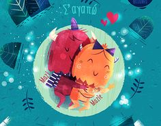 """Check out new work on my @Behance portfolio: """":::Mazi & Mazie, love illustrations:::"""" http://be.net/gallery/48779093/Mazi-Mazie-love-illustrations"""