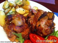 Érdekel a receptje? Kattints a képre! Meat Recipes, Gourmet Recipes, Hungarian Recipes, Hungarian Food, Tandoori Chicken, Cooking, Ethnic Recipes, Kitchen, Bors