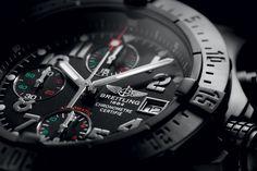4ead1de5115 Breitling Avenger Blacksteel Chrono Watches Photography
