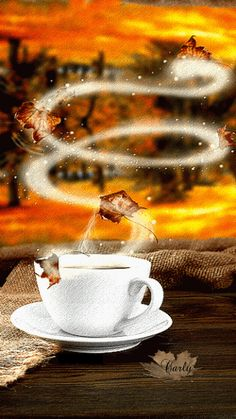 The perfect Coffee Tea Aroma Animated GIF for your conversation. Discover and Share the best GIFs on Tenor. I Love Coffee, Coffee Break, My Coffee, Coffee Cups, Good Morning Coffee Gif, Morning Pics, Fresh Coffee, Morning Images, Morning Quotes