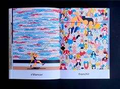 Illustrator Anne-Margot Ramstein Captures the Physicality of Sport in Her Colorful New BookEye on Design Albin Michel Jeunesse, Good To See You, Illustration Art, Illustrations, Book Design, New Books, Character Design, Graphic Design, Drawings