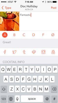 Elixr ios App iphone  ios7