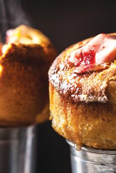 Popovers with Cranberry Butter Recipe