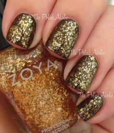 "Zoya ""Maria Luisa"" [gold flakie]"