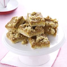 Pumpkin Oatmeal Bars Recipe from Taste of Home