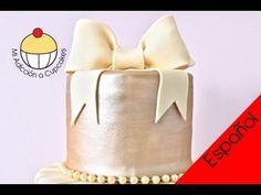 Haz un Lazo de Fondant para Tortas - Un Tutorial Práctico de Cupcake Add...